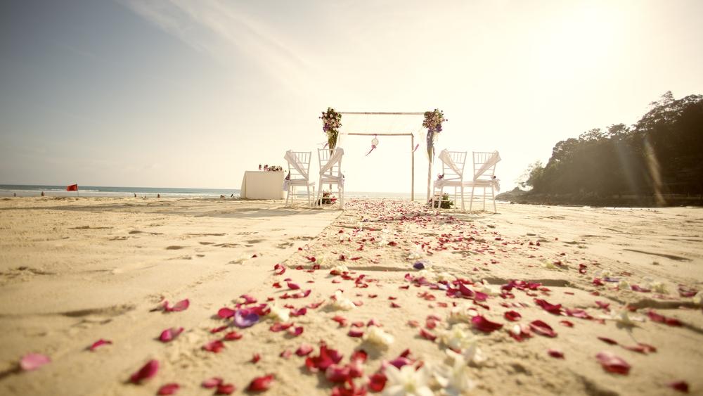 where to have a beach wedding
