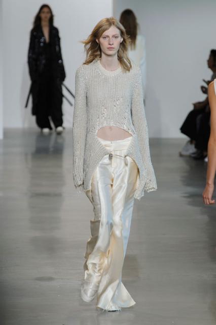 New York Fashion Week Coverage: Calvin Klein Spring 2016 Collection
